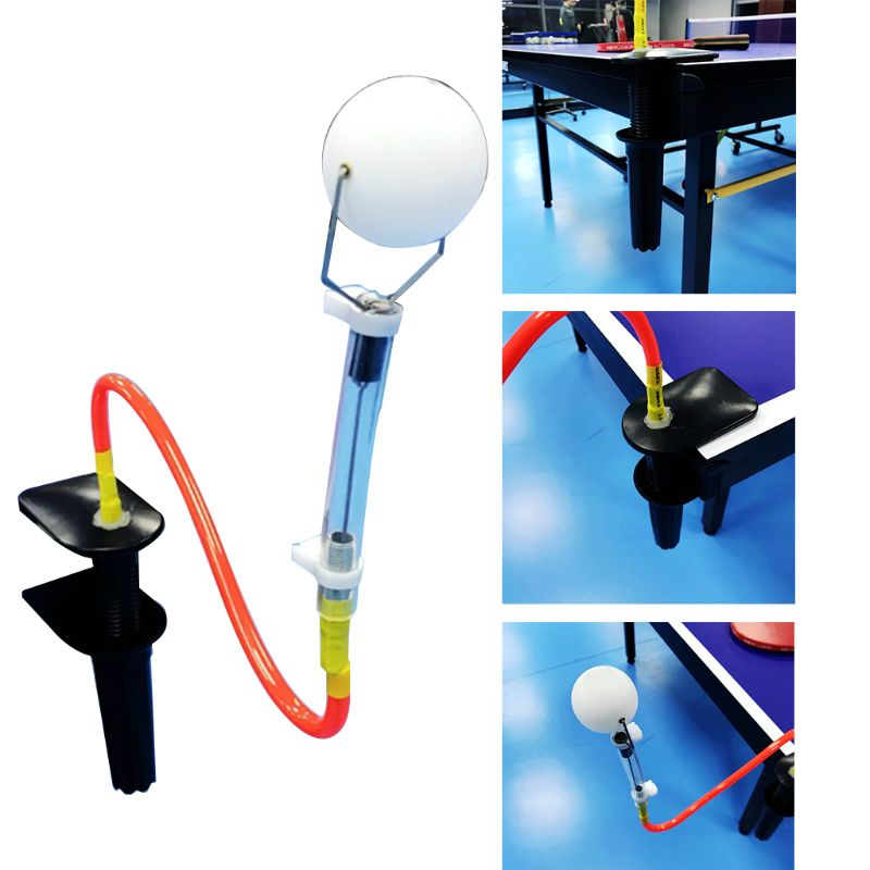 Table Tennis Training Robot Fixed Rapid Rebound Ping Pong Ball Machine Table Tennis Trainer For Stroking