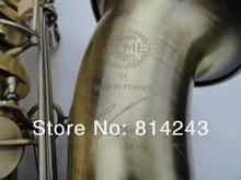 Selma STS-R54 тенор Си-бемоль B плоский латунный саксофон Ссылка 54 Уникальный античный медный саксофон музыкальные инструменты с чехлом мундштук