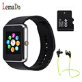 Best GT08 Smart Watch phone Support Sim / TF Card Sync Notifier Bluetooth Smartwatch for Android Phone