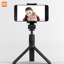 Xiaomi ручной мини-штатив 3 в 1 Автопортрет монопод телефон Selfie Stick Bluetooth пульт дистанционного спуска затвора