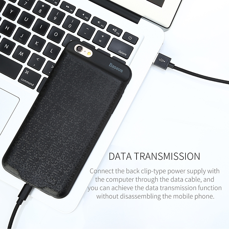 Baseus 2500/3650mAh Battery Charger Case For iPhone 6 6S Charging Case External Backup Power Bank Cover For iPhone 6 6S Plus