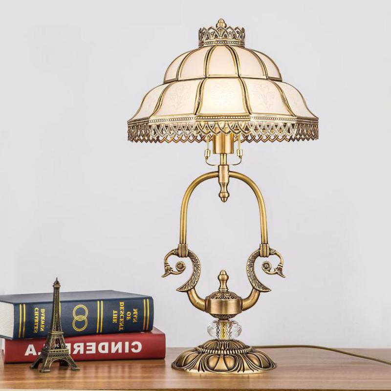 Commercial Table Lamps: Aliexpress.com : Buy Retro Led Tiffany Glass Table Lamp