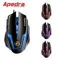 Apedra A9 Проводной Игровой Мыши 3200 ТОЧЕК/ДЮЙМ USB Оптическая Мышь 6 Кнопок Компьютера Pc Мышь Геймер Профессиональный Игровой Мыши для обои для рабочего