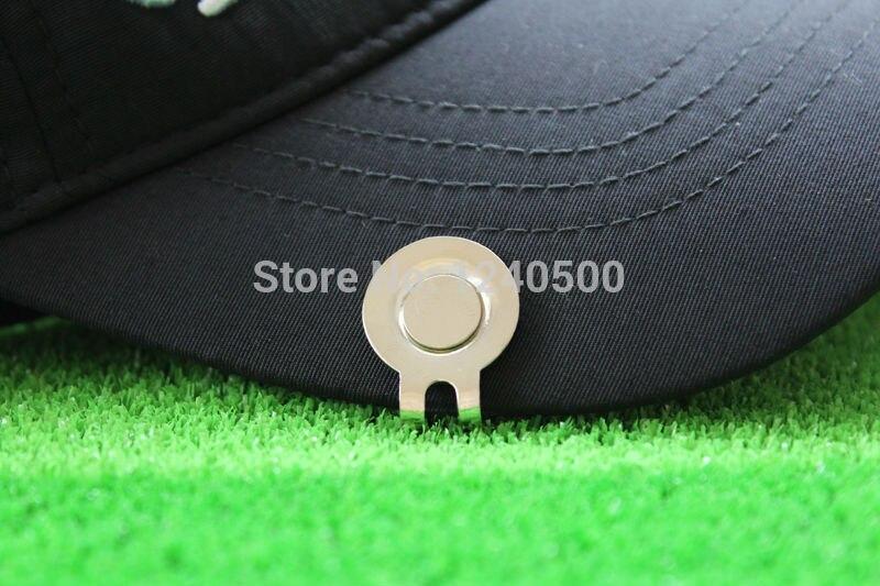 Envío de la Nueva Colorida Fina Aleación De Metal Golf Cap Clip Clip Del Sombrer