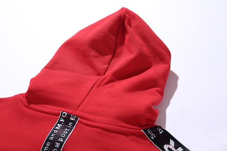 Ribbon Sleeve Hoodies 13