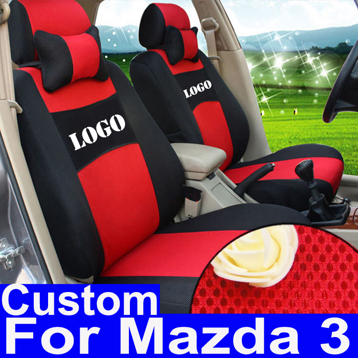 car seat covers for mazda 3 2008 2010 2012 seat cover accessories set custom sandwich fabric. Black Bedroom Furniture Sets. Home Design Ideas