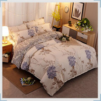 Bedding set Comforter Pink VS Beautiful Grid stripe Queen King Single Double Bed Sheet Duvet cover Blue Flowers XHS0017