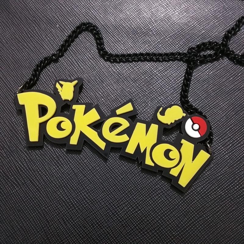 Pokemon Go Necklace Game Theme Pendant Necklace Hot Sale Acrylic Neckalce