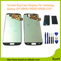Garantía 100% para samsung galaxy siv s4 pantalla lcd de 5.0 pulgadas S4 i9500 i9502 i9505 i9506 i9515 LCD Pantalla Digitalizador asamblea