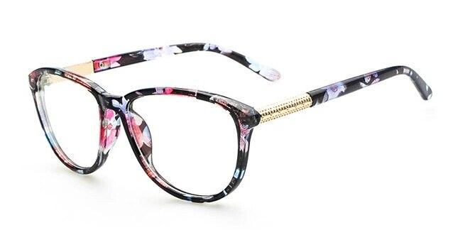 glasses frames 2015  Online Shop Floral Pattern 2015 Reading Glassess Unisex Eyeglasses ...