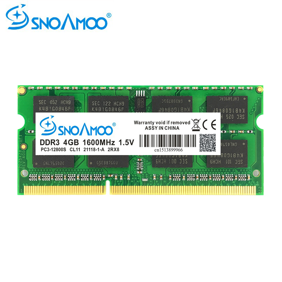 Top 99 Cheap Products Memoria Ram Ddr3 8gb Laptop In Bulbs Notebook Ddr3l 2rx8 Pc3l 12800 Low Voltage Snoamoo Memory 4gb 1333mhz 1600mhz Pc3 10600s For So Dimm 15v Warranty