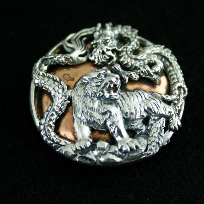 925 portefeuille chaîne argent cuivre mélange match bricolage personnalité style sac boucle