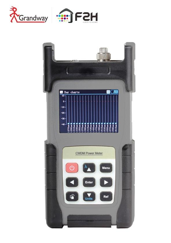 [ Grandway Original ] FCA-18 CWDM Analyzer CWDM Power Meter 18 Channels 1270 ~ 1611nm Quick Scan All Channels