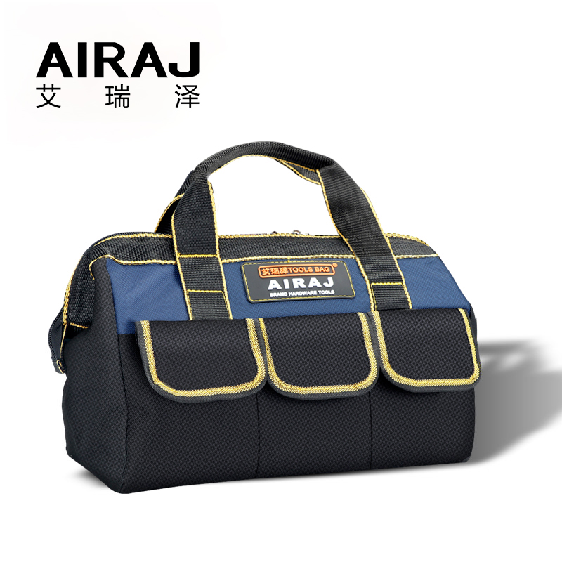 AIRAJ Storage-Bag Woodworking 13-In-Tool-Bag Electrician Large-Capacity For Fitters Top-Opening-Tool-Kit-Tool