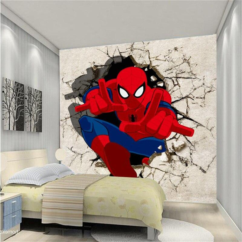 Peinture pour chambre spiderman for Decoration chambre spiderman