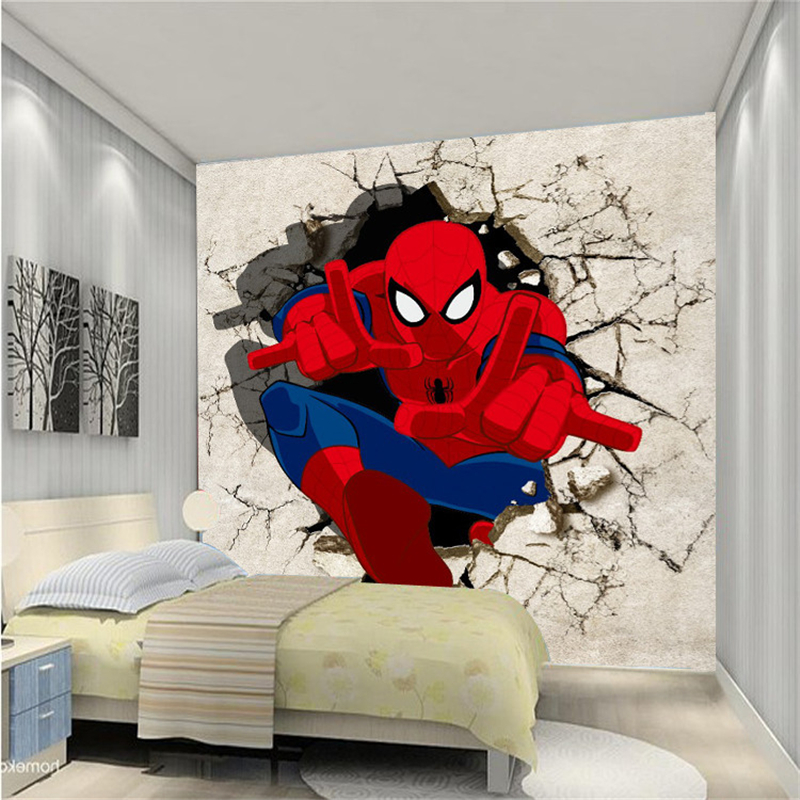 Spiderman Wall Mural online get cheap spiderman wall mural -aliexpress | alibaba group