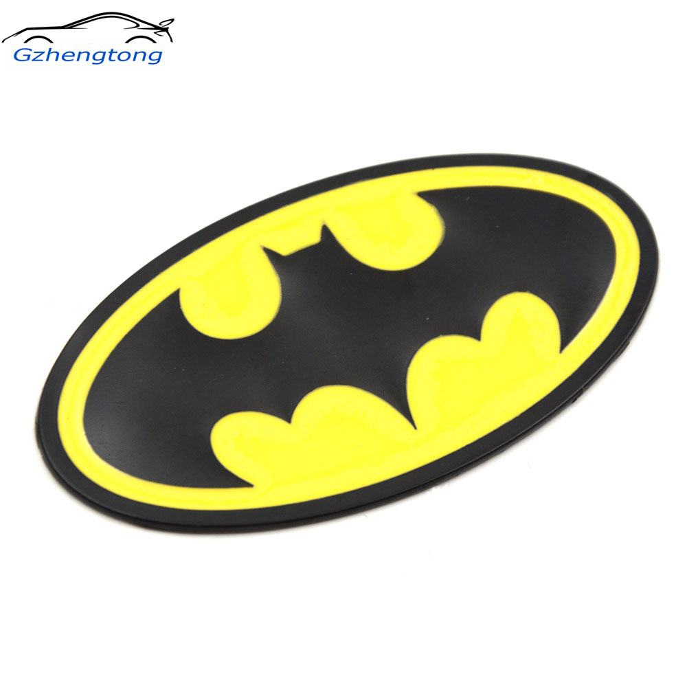 Gzhengtong 3d batman gobo symbol metal alloy emblem badge sticker decal car styling universal car sticker