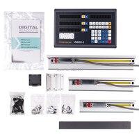 디지털 디스플레이 완료 밀링/선반/드릴 머신 dro 3 축 디지털 판독 값 3 pcs 선형 저울