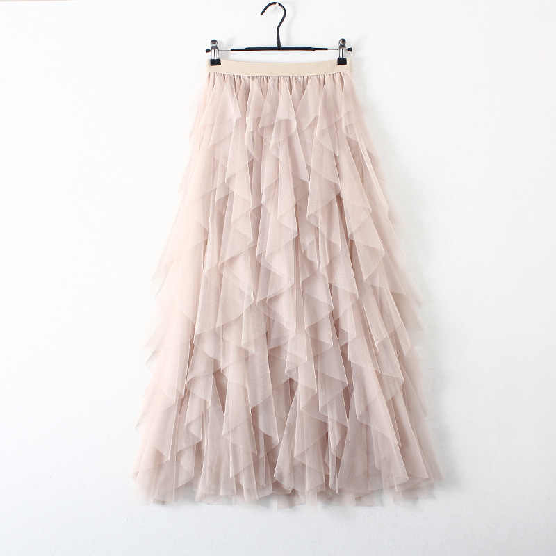 c876b14bf87 Detail Feedback Questions about Lace Tulle Skirt Women 2018 Korean ...