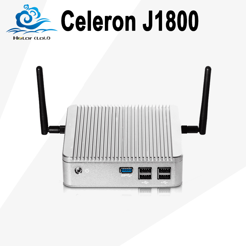 Mini PC Intel Celeron J1800 Dual Core 2.41GHz Windows 10 Linux Mini Desktop  PC With Wifi HD Graphics HTPC Computador TV Box .