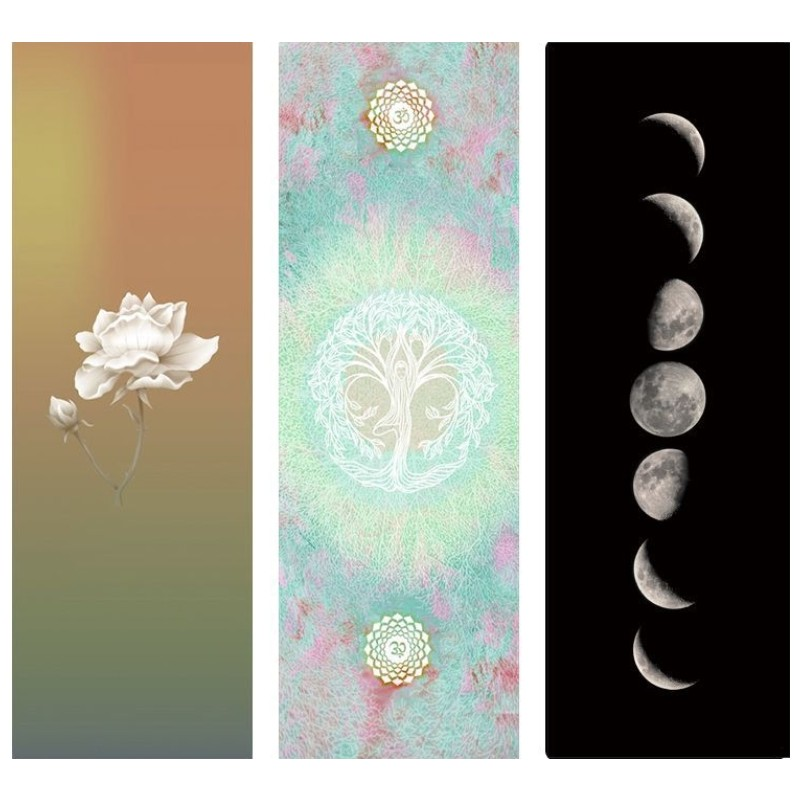 3.5MM New Printing Yoga Mat Non-slip Deerskin Suede Natural Rubber Yoga Mat Lose Weight Exercise Pilates Pad Gymnastic Mats more longer new style 183cm 68cm 5mm natural rubber non slip tapete yoga gym mat lose weight exercise mat fitness yoga mat