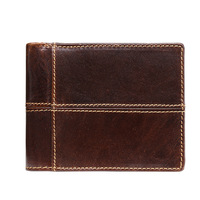 Real Leather Men Wallets Short Multi Card Slots Portemonnee Brand Designer Portafoglio Uomo Top Quality Men