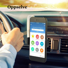 Oppselve Car Phone Holder For iPhone X 8 7 6 6S 360 Degree GPS Mobile Phone Holder For Samsung S9 S8 Air Vent Mount Car Holder 360 degree rotational bicycle mount holder for iphone 4 4s 5 samsung i9300 gps black