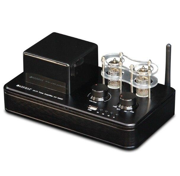 HIFI Power Electronic Tube Power Amplifier Mini Bluetooth 4.0 Amps U Disk Lossless Decoding 220V