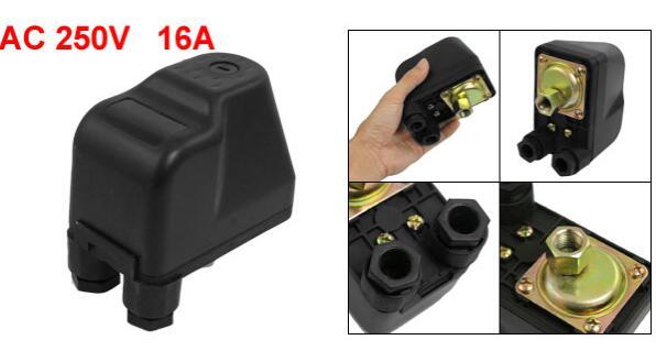 AC 250V 1/4 Port Air Compressor Automatic Pressure Switch 1-5 Bar