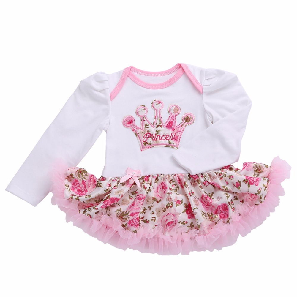 Cute Baby Party Princess Infant First Birthday Dress