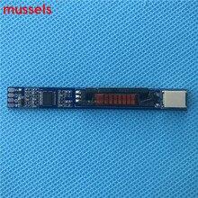 Pour 9 25 v entrée ordinateur portable universel rétro éclairage onduleur LED lampes simples courant Constant carte conducteur lumière réglable 2 pièces/lot