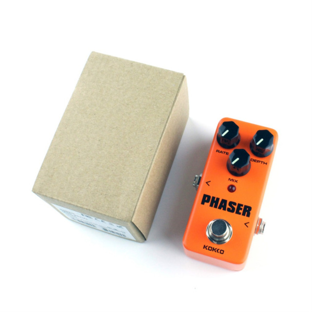 FPH2 Mini Guitar Amplifier OD Effect Pedal Orange True Mini Pedal phaser Guitarra Pedal Efectos Calidad Portatil Guitar Part
