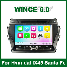Touch Screen Car DVD Video Player GPS for Hyundai IX45 2013 2014 2015 with Radio Bluetooth support Wifi 3G Ipod