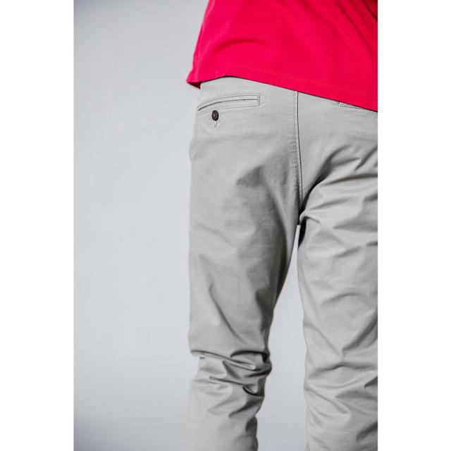 SIMWOOD 2019 Summer Autumn New Casual Pants Men  Cotton Slim Fit Chinos Fashion Trousers Male Brand Clothing Plus Size 3