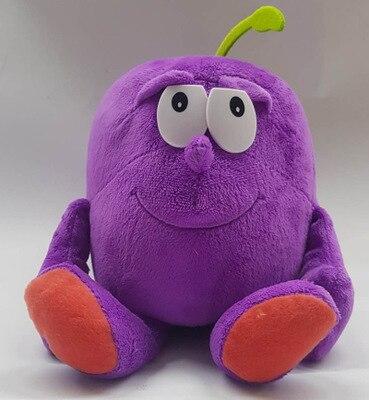 Детские мягкие игрушки детские развивающие игрушки красочные фрукты овощи 10-35 см Рождественский подарок