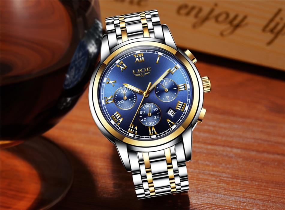 HTB16I1WfsnI8KJjSspeq6AwIpXai LIGE Men Watches Top Luxury Brand Full Steel Waterproof Sport Quartz Watch Men Fashion Date Clock Chronograph Relogio Masculino