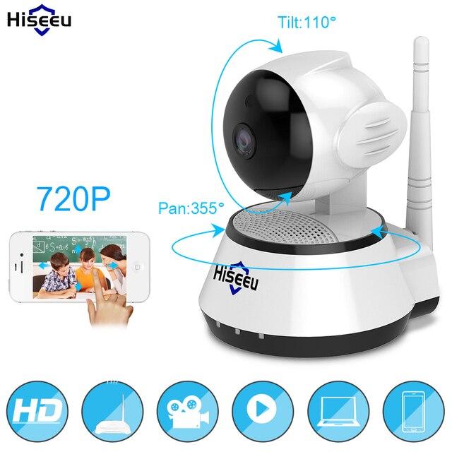 WI-FI Audio Record Surveillance Baby Monitor HD Mini CCTV Camera