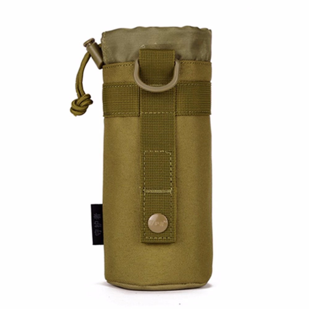 Genuine small outdoor kettle kettle bag hanging sleeve waist tactics bottle bags package attached plug bottle