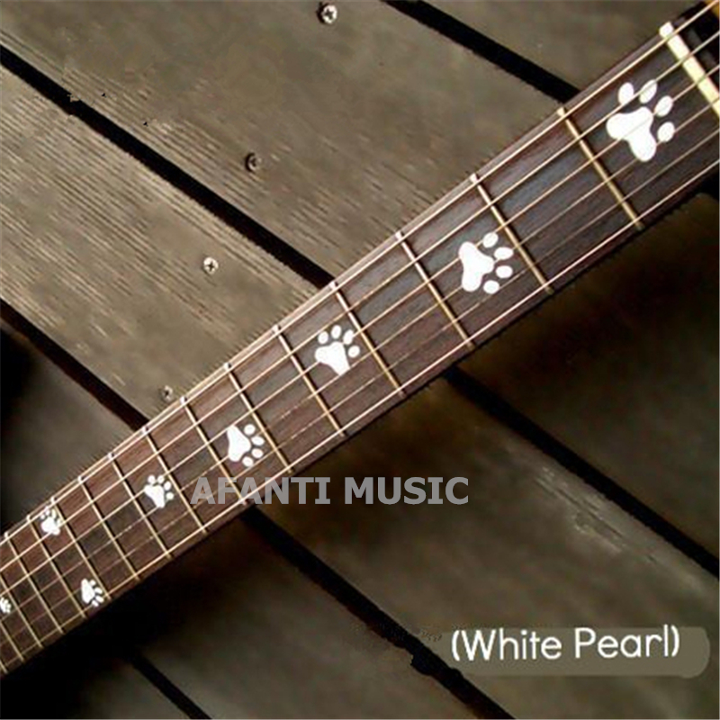 Afanti music Guitar Finger Board sticker / Shell sticker Inlay (FPD-132) yibuy 2pcs inlay colorful guitar head veneer shell sheet new