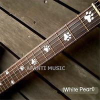 Afanti music Guitar Finger Board sticker / Shell sticker Inlay (FPD 132)
