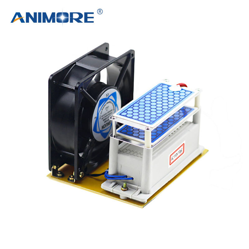 цена на ANIMORE Ozone Generator With Double Sheet Ceramic Plate Long Life 220V/110V Ozonizer Sterilizer Fan Excellent Heat Dissipation