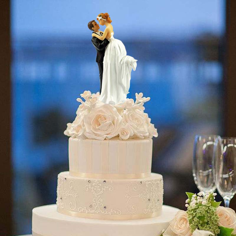 Wedding Gift Table Ideas: Bride Groom Cake Topper For Wedding Engagement Anniversary