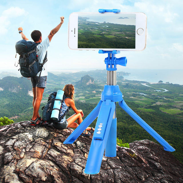 NI5L  Bluetooth Selfie Stick Extendable Monopod Tripod For iPhone 6S 6 Plus Samsung S6 For Android IOS SmartPhone