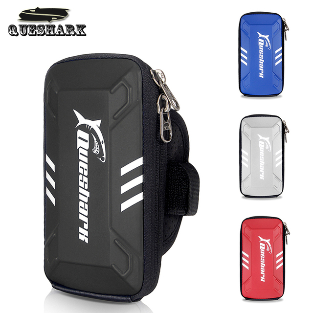 huge discount e9431 9242f Waterproof Running Armband Bag Phone Case Mobile Phone Holder Jogging Arm  Sport Bag Gym Fitness Bag Cycling Accessories-in Running Bags from Sports &  ...