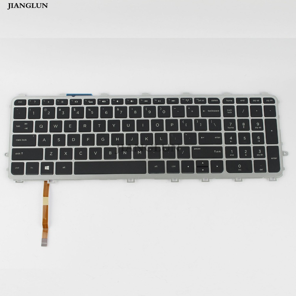 JIANGLUN Laptop US Layout Keyboard with backlit backlight For HP 15 J 17 J 17 j005TX