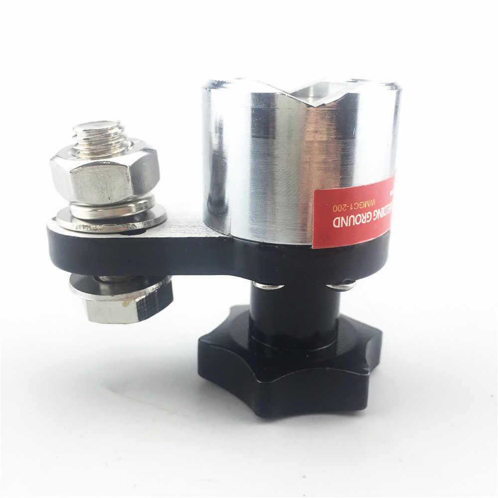 Magnético da Soldadura MWGC1-200 Chão 200A Grampo De Aterramento Ferro De Solda Máquina de Solda Conector Ímã De Neodímio Magnético