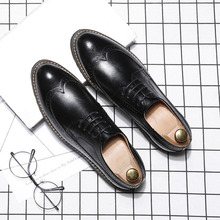 2018 summer luxury men shoes genuine leather clogs for shoelaces large sizes oxfords breathable footwear human race Flat