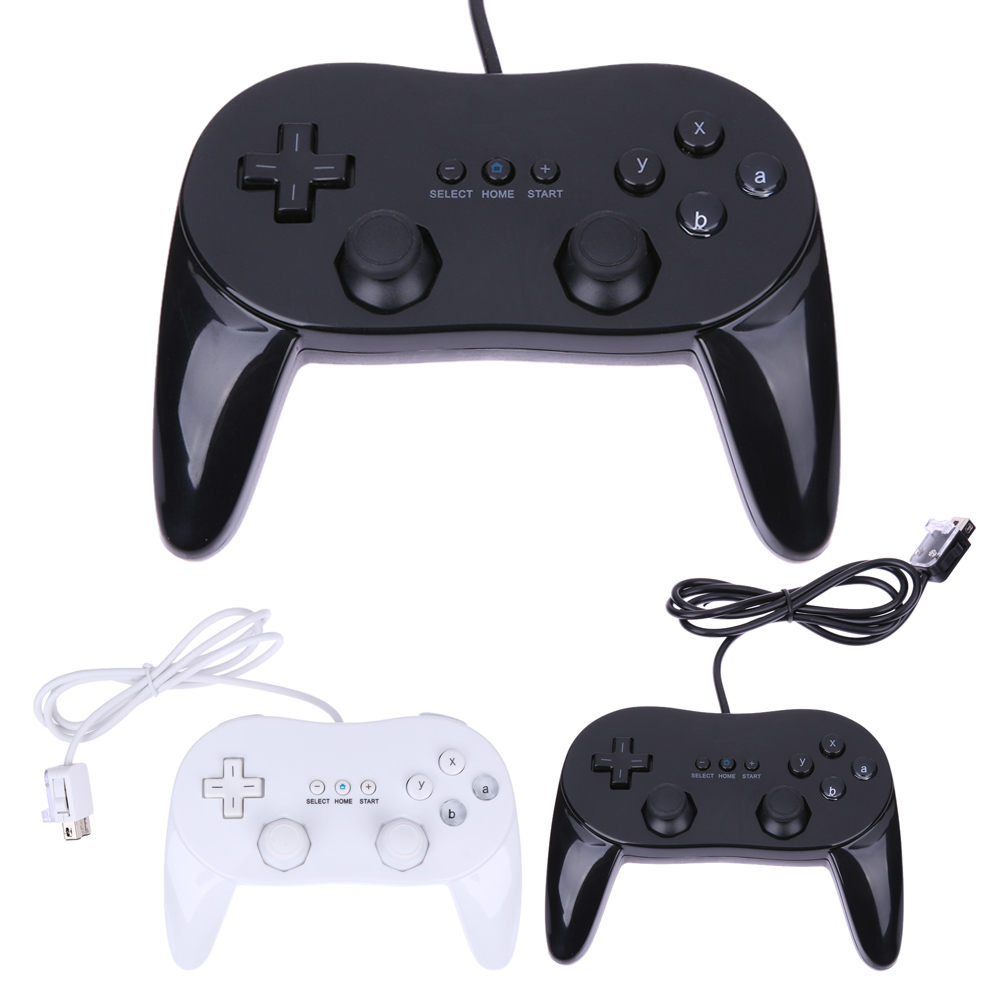 New Game Controller Pad Console Joypad Gamepad For Nintendo Wii Remote console game for Nintendo Wii Classic Pro for nintendo new 3ds ll xl controller console gamepad handgrip joypad bracket holder handle hand grip protective support case