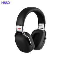 EDIFIER H880 HI Fi Headphones Noise Barrier Bass Response Folding Designs Comfortable Over Ear Inline Remote Control and Mic
