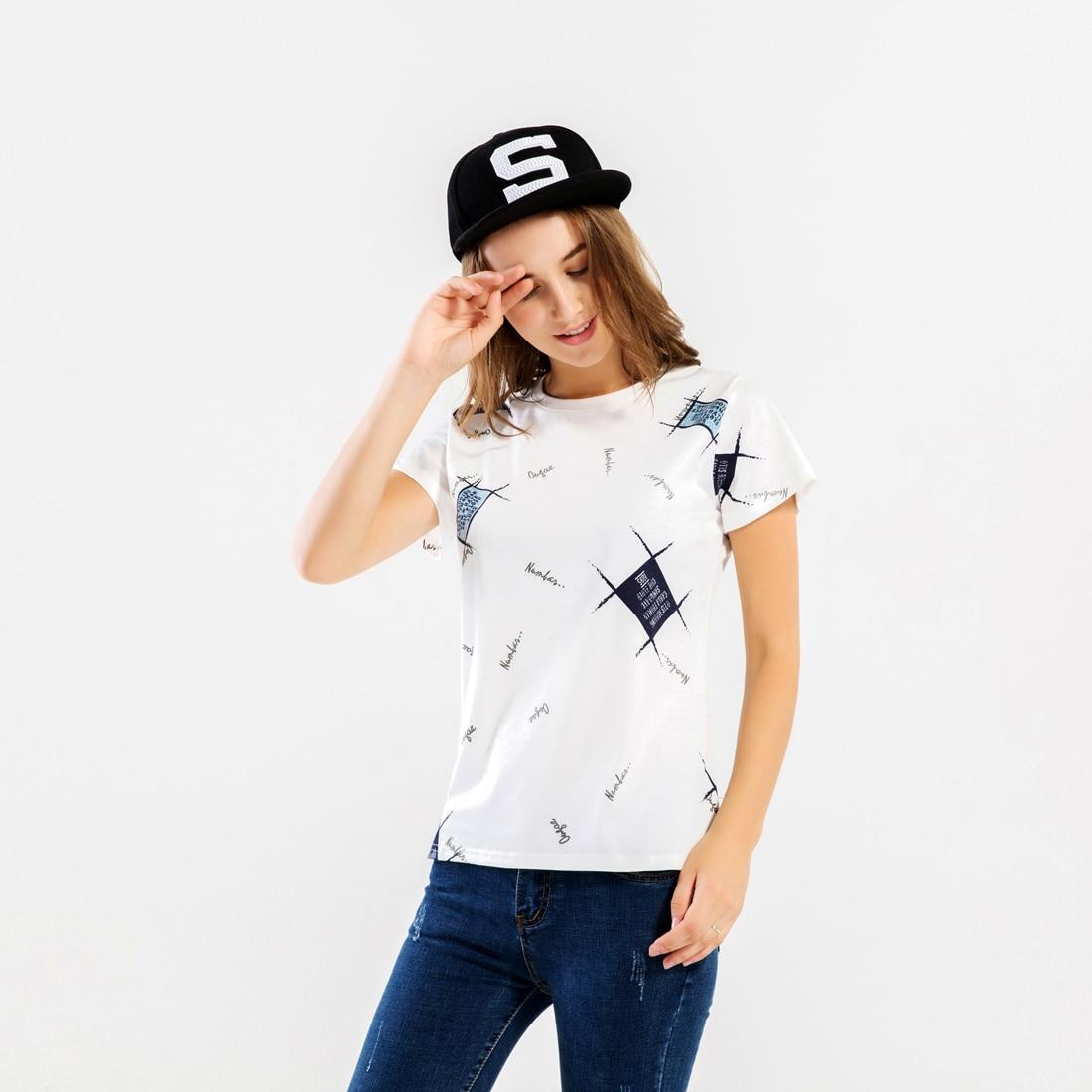 Fashion Streetwear Women's T-shirts 2019 New Hot Sale O-Neck Hip Hop T-shirt For Women Harajuku Brand-Clothing Tops Tees Shirt